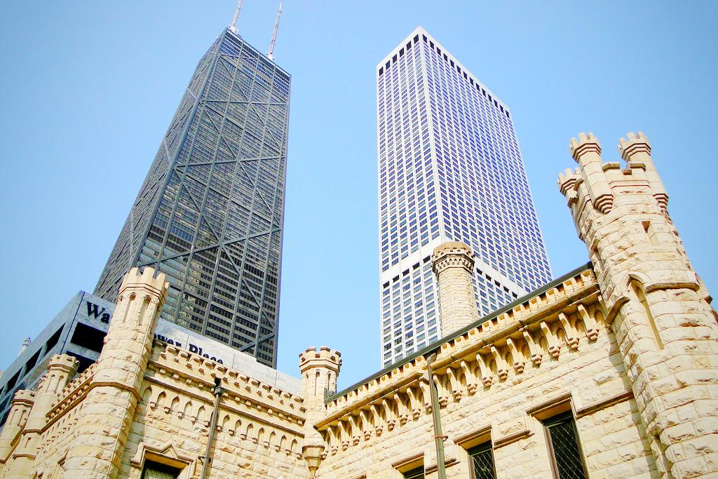 Torre del Agua en Chicago, Illinois